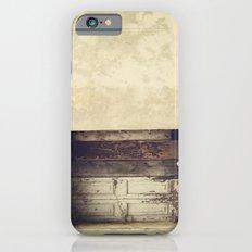 Wood window iPhone 6s Slim Case