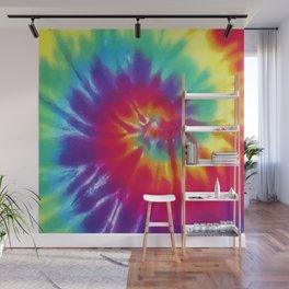 Tie Dye Swirl Pattern Wall Mural