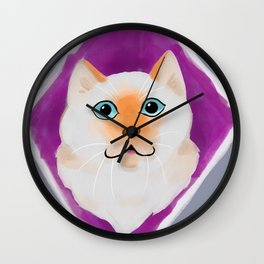Flamepoint Wall Clock