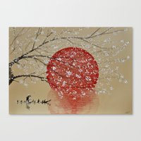 japan Canvas Prints featuring Japan by Japan Art