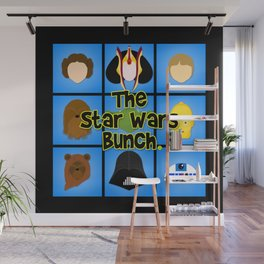 The Bunch Wall Mural