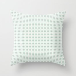 cuadros verdes Throw Pillow