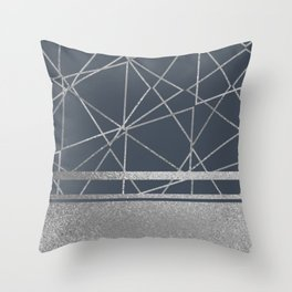 Silverado: Gun Metal Throw Pillow