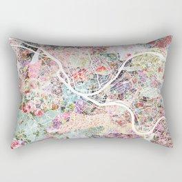 Pittsburgh map - Landscape Rectangular Pillow