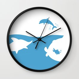 Save the world Wall Clock