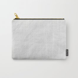 Texture Of Crumpled White Paper Carry-All Pouch