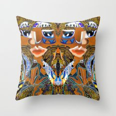 Twins Proudly Back Throw Pillow
