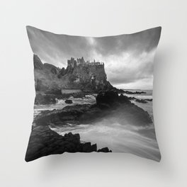 The Old Ruin Throw Pillow