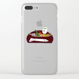 Japanese Sushi Kaiseki Starter Clear iPhone Case