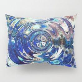 Water Element Ripple Pattern Pillow Sham