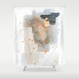 Pieces of Cheer 2 Shower Curtain