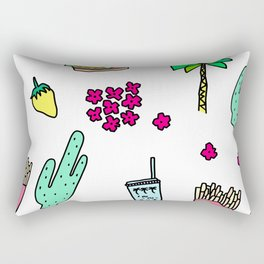 Dear My Lovely California - southwest palm springs beach sun city los angeles retro pop art Rectangular Pillow