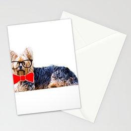 Dog Dorkie Yorkie Yorkshire Terrier Stationery Cards