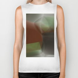Abstract Composition 223 Biker Tank