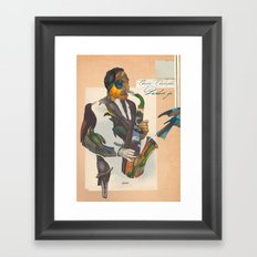 charlie parker Framed Art Print