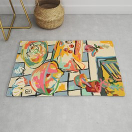 BREAD AND PASTA LOVE  Rug