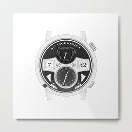 A. Lange & Söhne - Zeitwerk Striking Time - 145.025 Metal Print