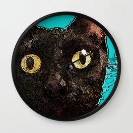 Kismet Kitty Wall Clock
