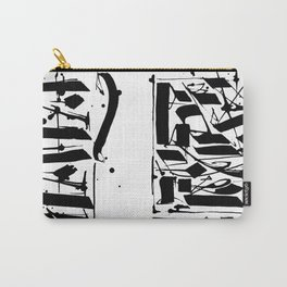 CALLIGRAPHY N°4 ZV Carry-All Pouch