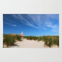 Dunes at the beach - summer holiday Island Outdoors Sea Ocean Rug