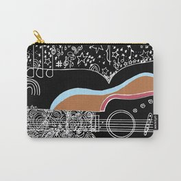 Guitar & stars Carry-All Pouch