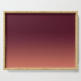 Gradation, Monochrome, Color Mood Serving Tray