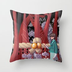 Tale of the Fiend - Shinsekai Yori Throw Pillow