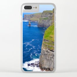 Bella Rock Beach Clear iPhone Case