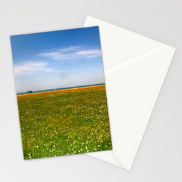 Green Grass on the Lake Front  Stationery Cards