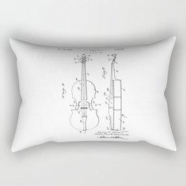 patent art Brown et al Violin 1930 Rectangular Pillow