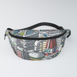 The American Football Media Factory Fanny Pack