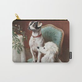 Christmas Dogs Carry-All Pouch