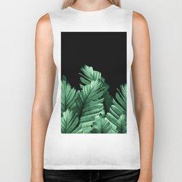 Green Banana Leaves Dream #2 #tropical #decor #art #society6 Biker Tank