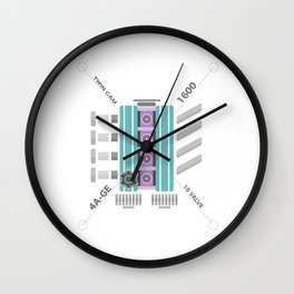 AE86 Wall Clock