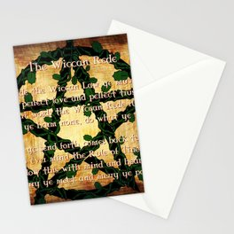 The Wiccan Rede Stationery Cards