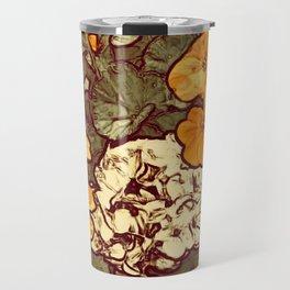 Orange Geranium, Plant of Feminine Healing Travel Mug