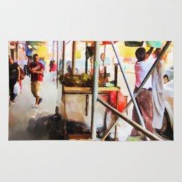 Street Vendors 2 Rug