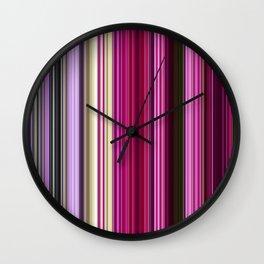 Spring Rainbow Wall Clock