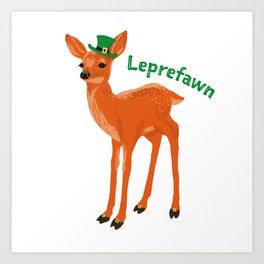 Leprefawn Art Print