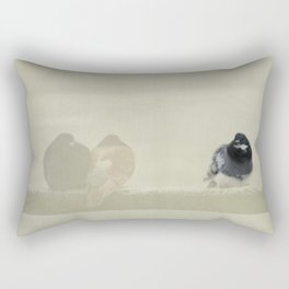 Twosome lonely Rectangular Pillow