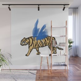 tiger's wing Wall Mural