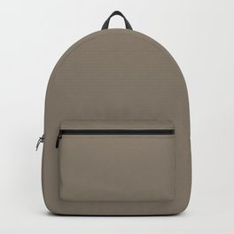 Mulch Brown English Country Wedding Backpack