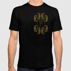 Monogram P seahorse MEDIUM Mens Fitted Tee Black