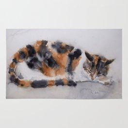 Calico cat Rug