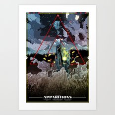 Apparitions Art Print