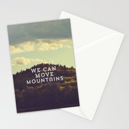 We Can Move Mountains Stationery Cards