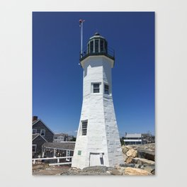 Scituate Lighthouse Canvas Print
