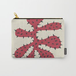 Matisse Inspired Red Shape Carry-All Pouch
