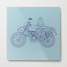 Bali monkey Metal Print