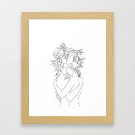 Blossom Hug Gerahmter Kunstdruck